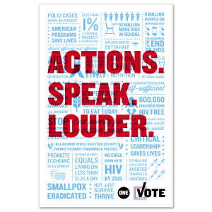 ONE Vote Special Edition Poster