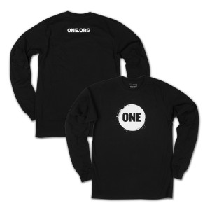 ONE Campaign Long Sleeve Unisex T-shirt