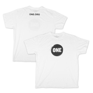 ONE Campaign Men's T-Shirt in White
