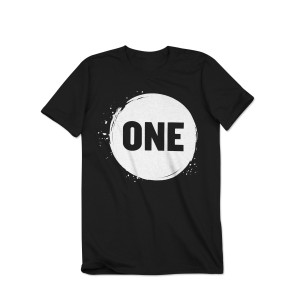 ONE Campaign Kid's Splatter Logo T-Shirt