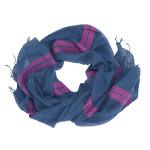 Scarf - Rita (Blue/Pink)