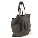ONE FEED 10 Bag with Burlap Pouch - Gray