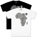 Men's ONE shirt by EDUN: African Thumbprint