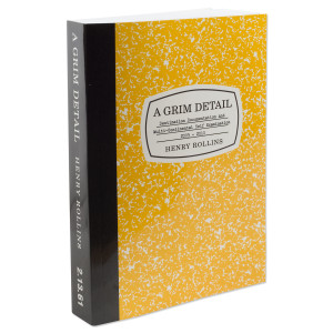 Henry Rollins - A Grim Detail Book