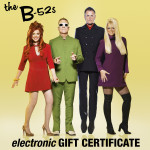 B-52s Electronic Gift Certificate
