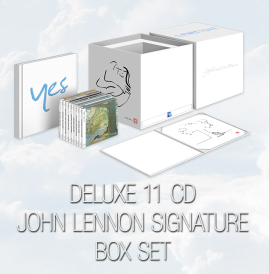 Deluxe 11 CD John Lennon Signature Box