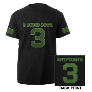 Kryptonite Football Tee