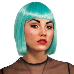 Lady Gaga Turquoise Wig