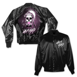 Lady Gaga Bubble Satin Jacket