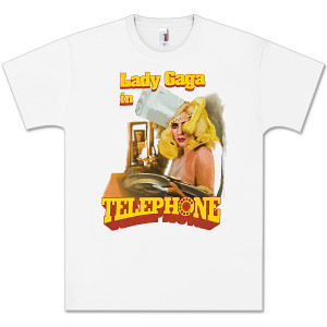 Lady Gaga Telephone Waitress T-Shirt