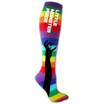 Lady Gaga Rainbow Socks