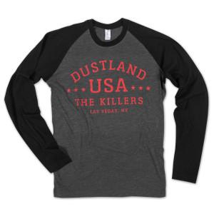The Killers Raglan Shirt
