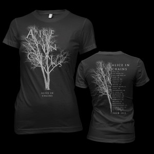 Alice In Chains Tree 2015 Tour Junior T-Shirt