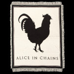 Alice In Chains Rooster Woven Blanket