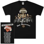 Pussycat Dolls 2009 World Tour Motorcyle T-Shirt