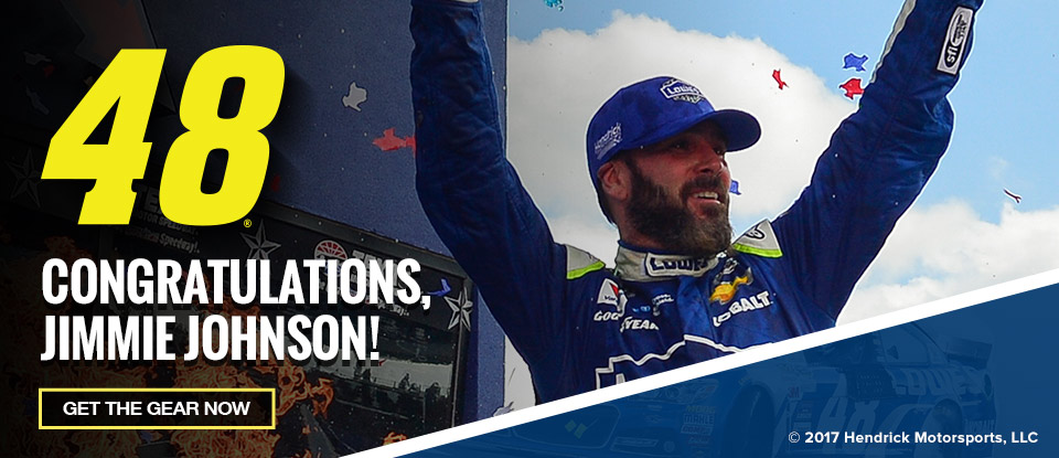 Jimmie Johnson Wins!