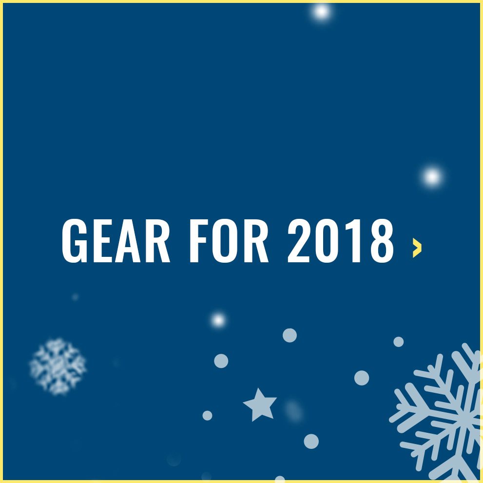 Gear for 2018
