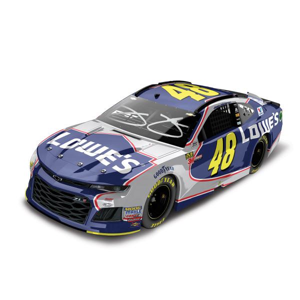 5db31c2213016 Autographed Jimmie Johnson 2018 NASCAR Lowe s Final Race in Homestead Elite  1 24 Die-