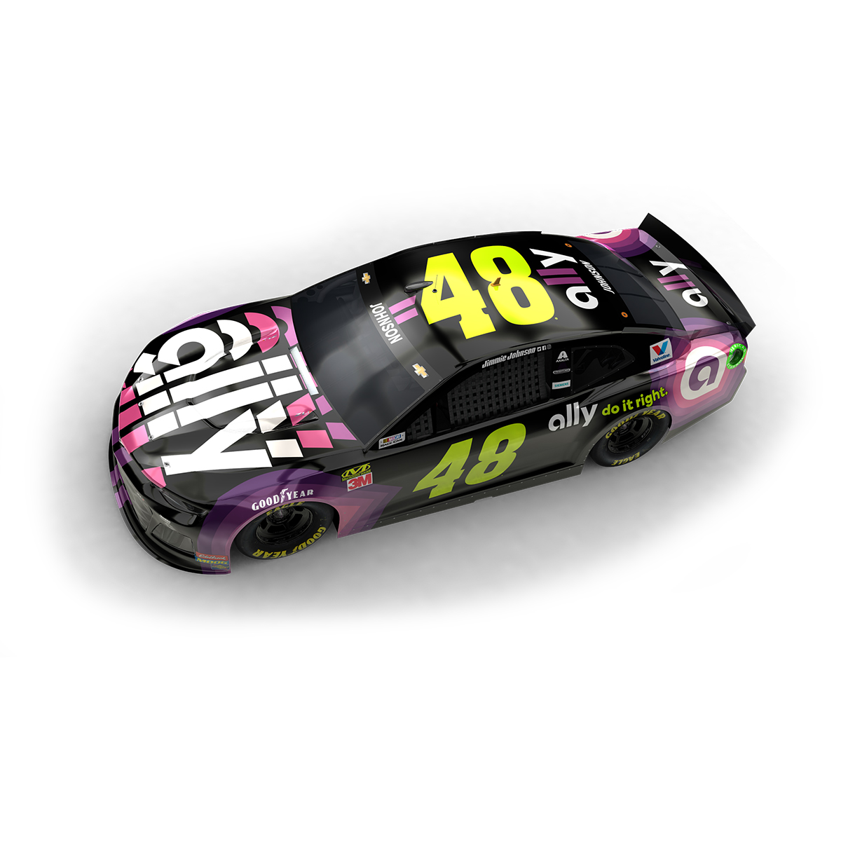 Autographed 2019 ally 1:24 Elite Diecast