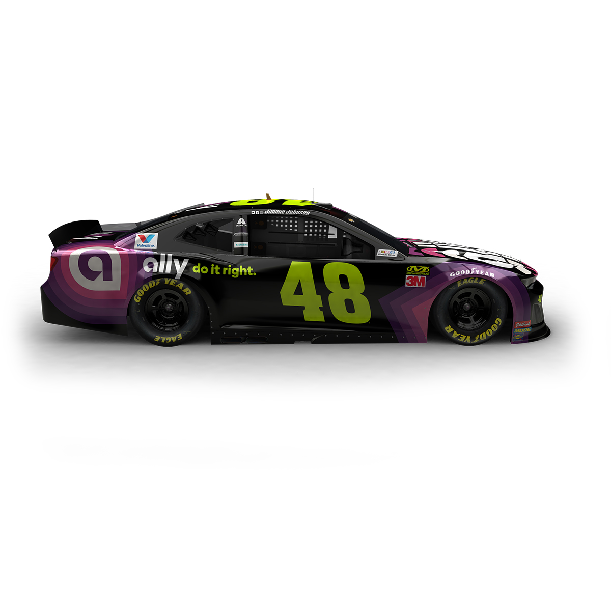 Jimmie Johnson 2019 NASCAR Ally Elite 1:24 Die-Cast