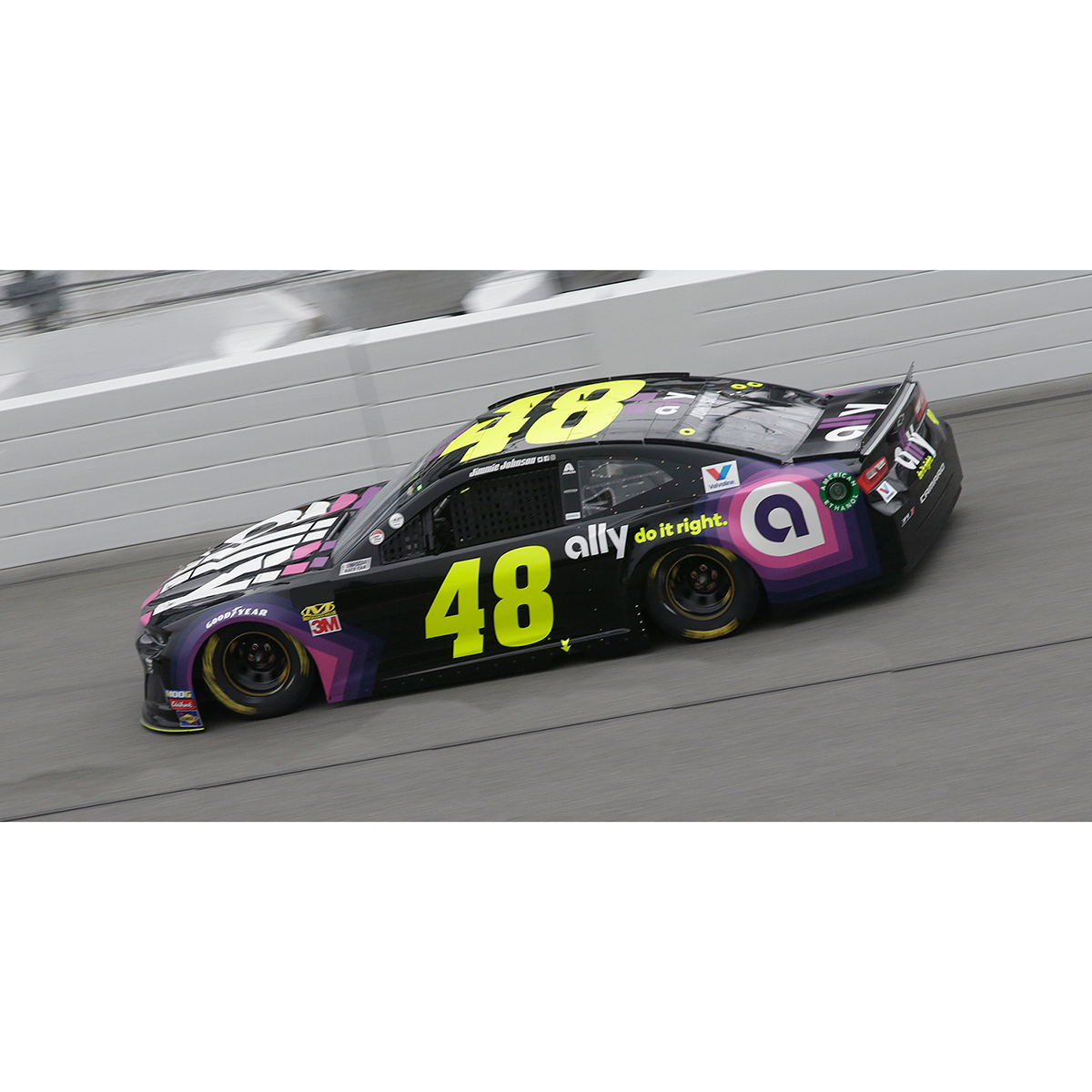 Jimmie Johnson 2019 NASCAR Clash at Daytona Winner 1:24 HO Die-Cast