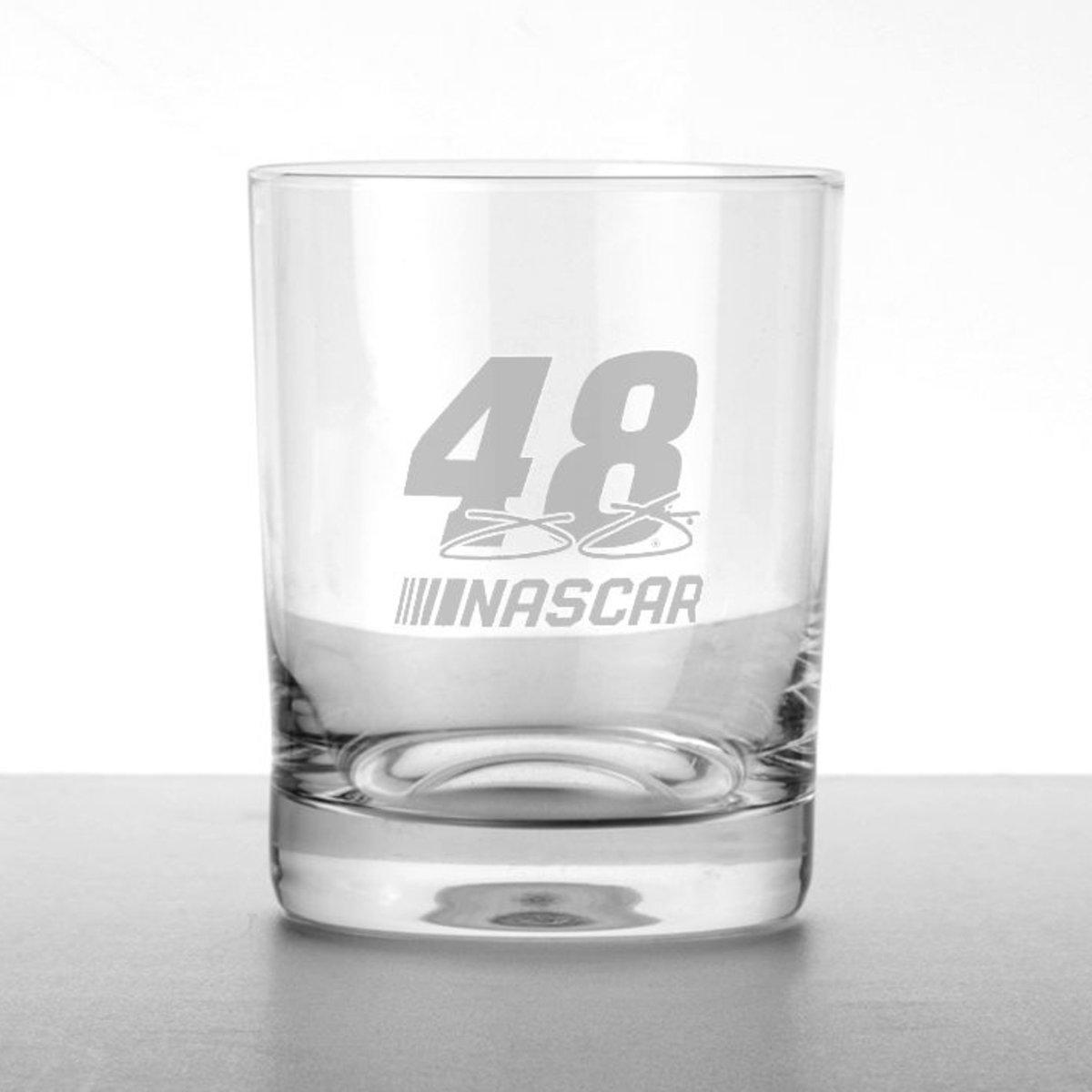 Jimmie Johnson Tumbler Glass