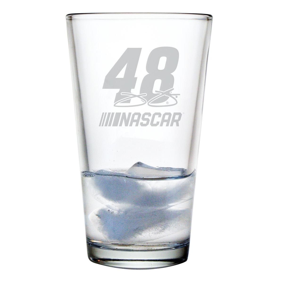 Jimmie Johnson Pint Glass