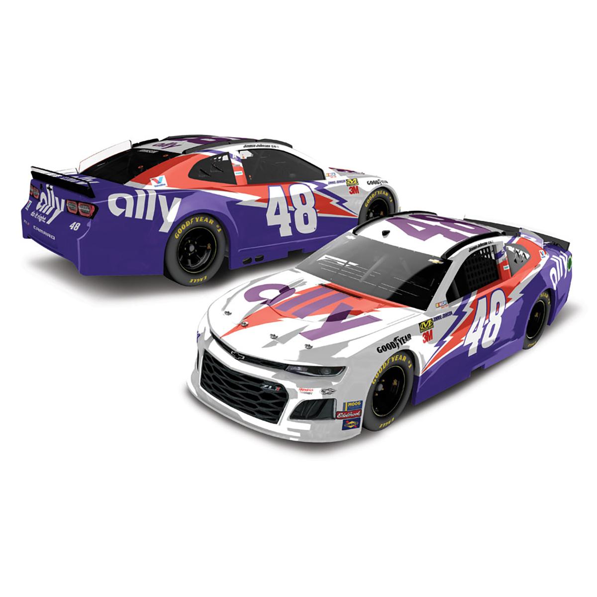 Jimmie Johnson #48 2019 Ally Darlington NASCAR HO 1:24 - Die Cast