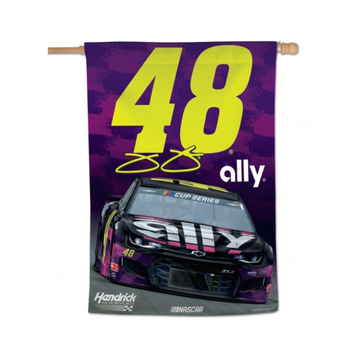 "Jimmie Johnson #48 2020 ally Vertical Flag 28"" X 40"""