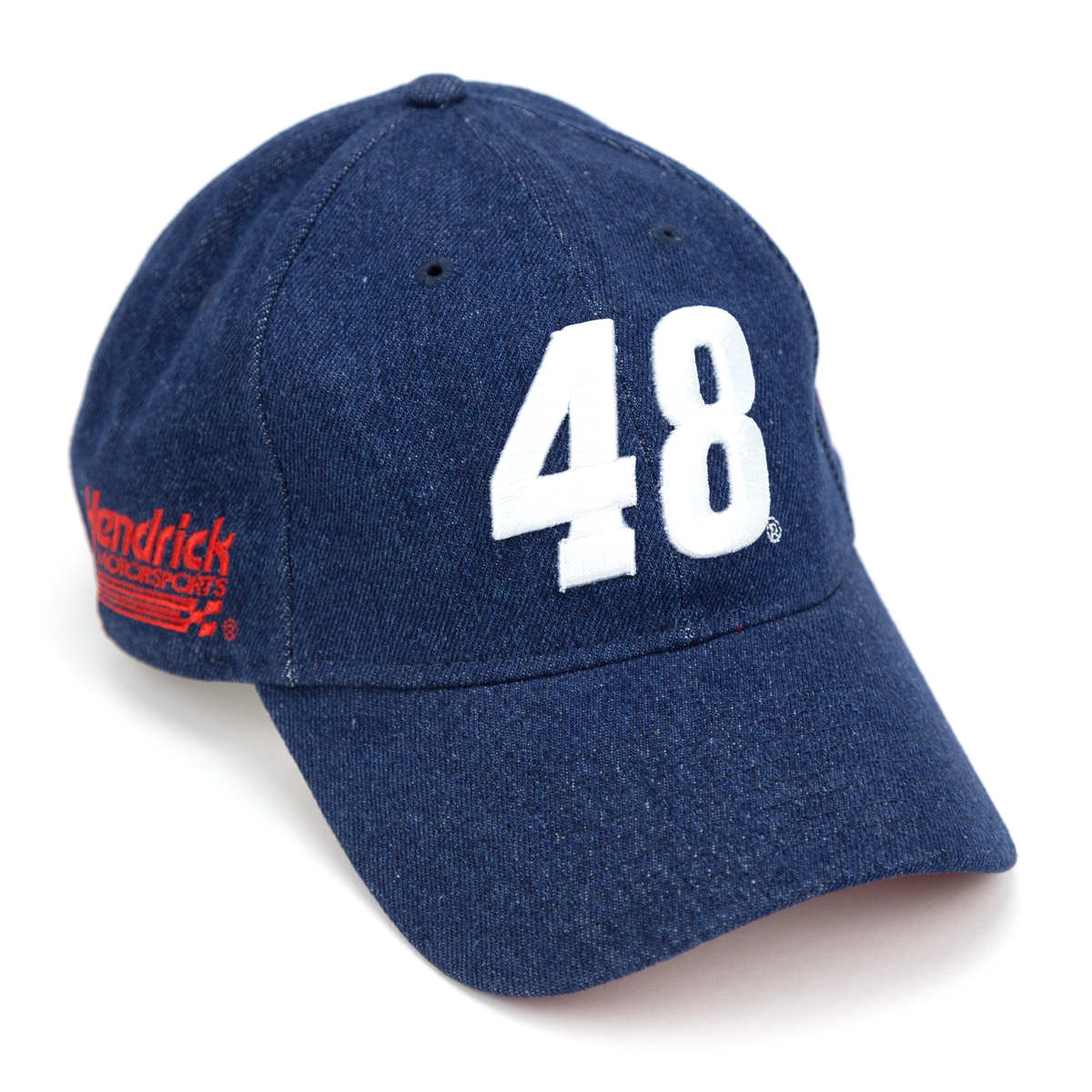 Jimmie Johnson #48 2019 NASCAR New Era 9Twenty Denim Americana Hat
