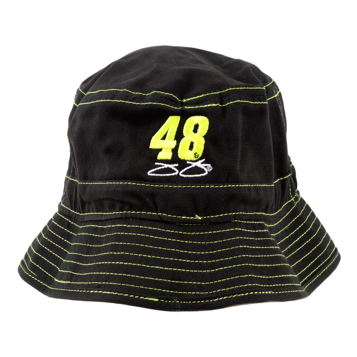 #48 Jimmie Johnson 2019 NASCAR Ally Black Bucket Hat