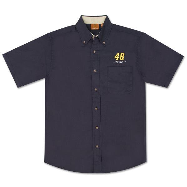 Jimmie Johnson Short Sleeved Twill Shirt