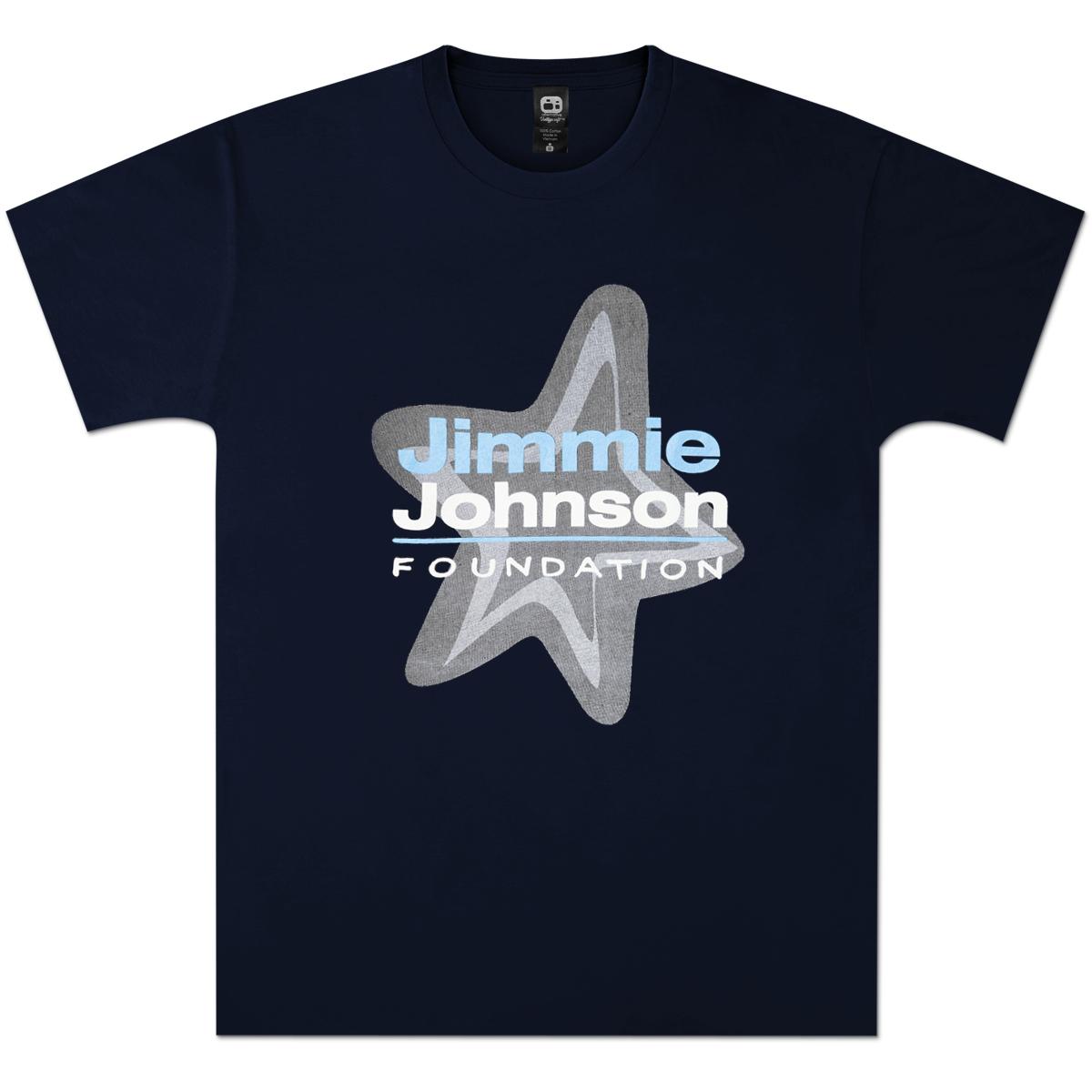 Jimmie Johnson Foundation Navy T-Shirt