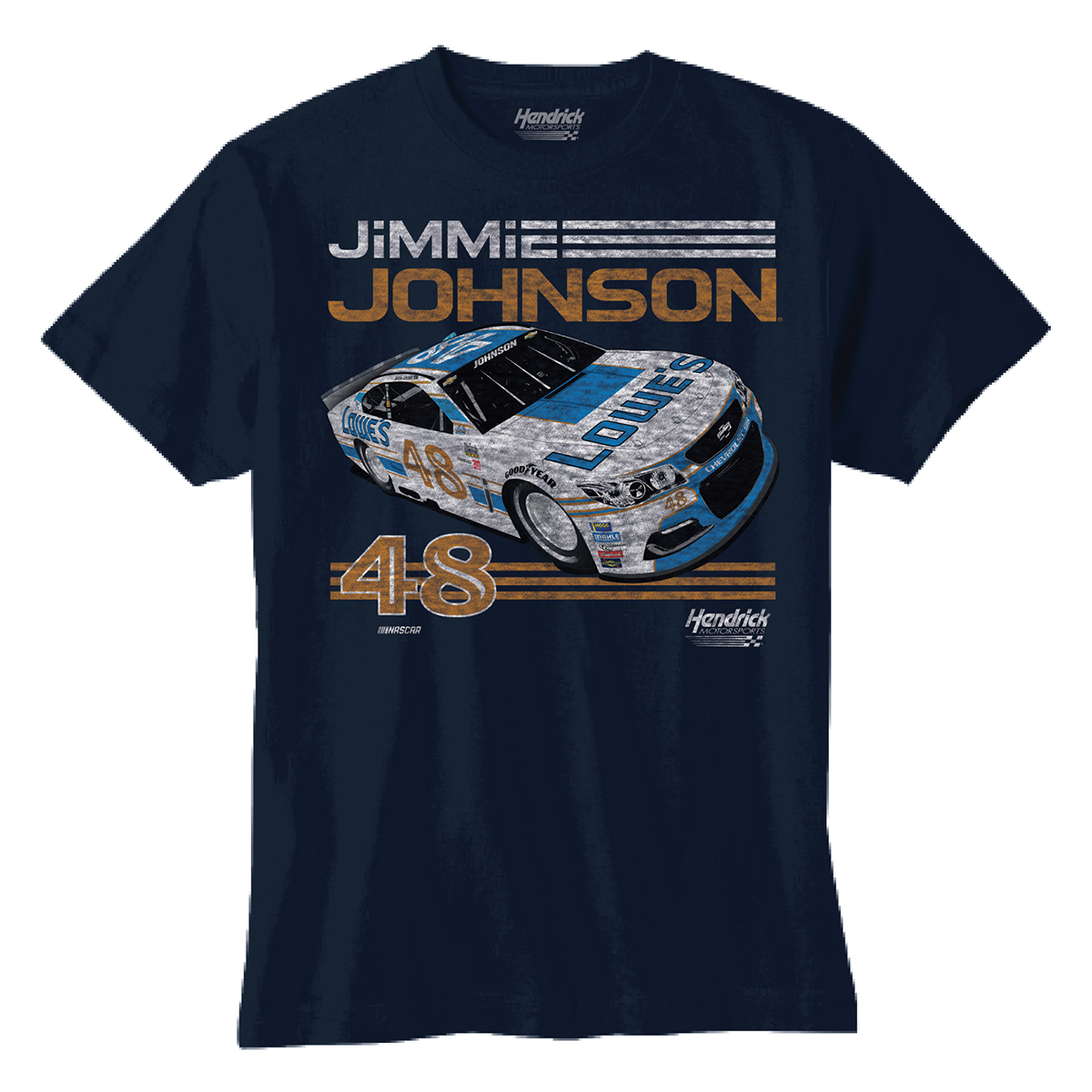 Jimmie Johnson 2017 #48 Darlington Youth Graphic T-shirt