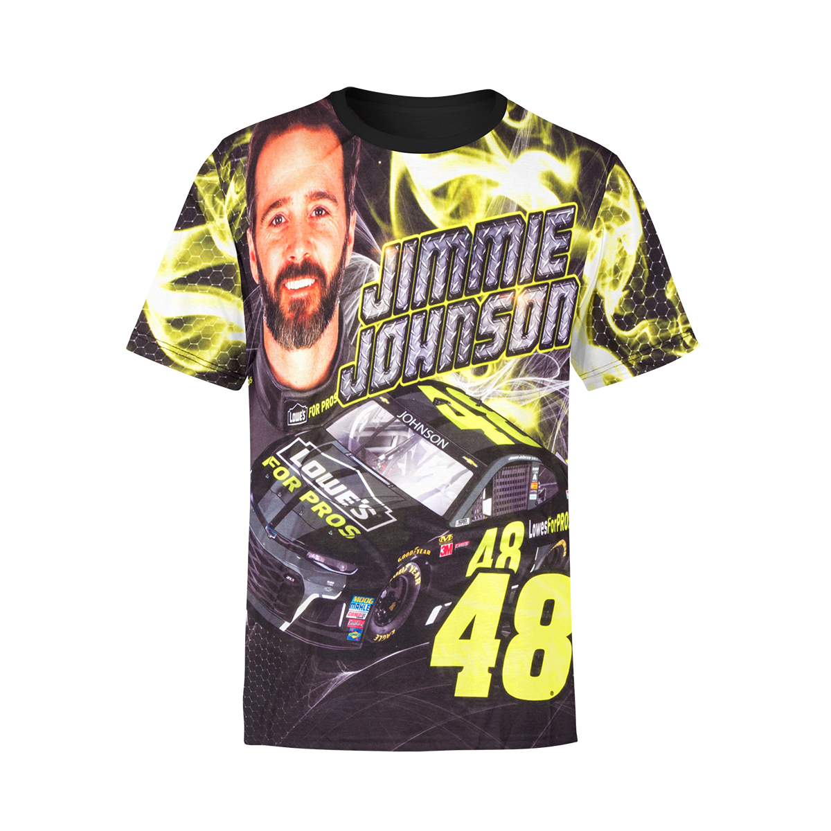 Jimmie Johnson #48 Youth Sublimated Driver T-shirt