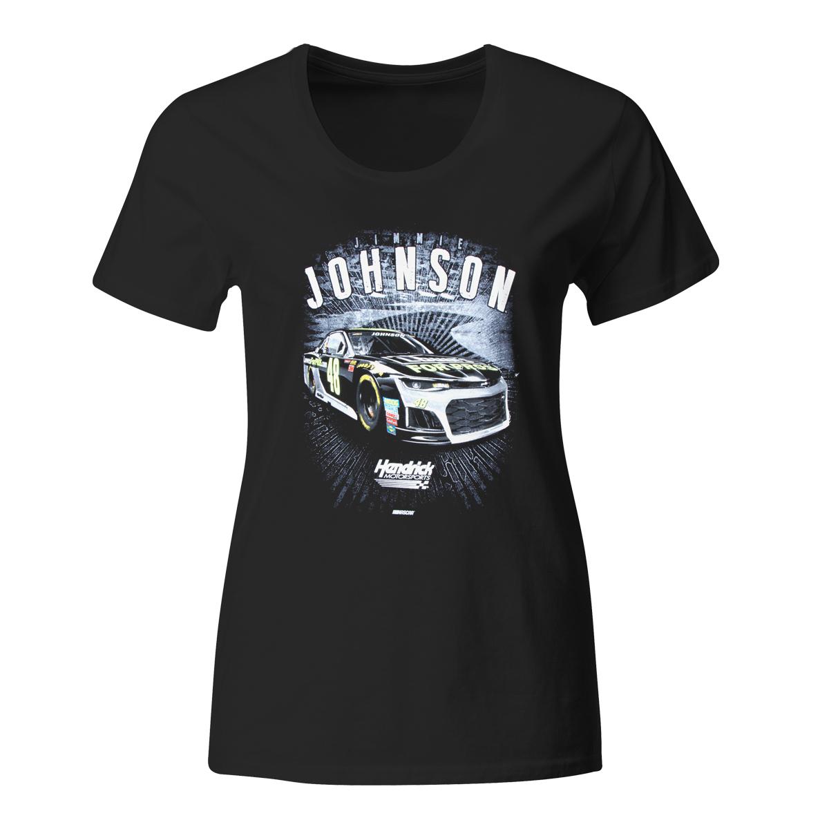 Jimmie Johnson #48 2018 Lowe's Ladies Acceleration 1-Spot T-shirt