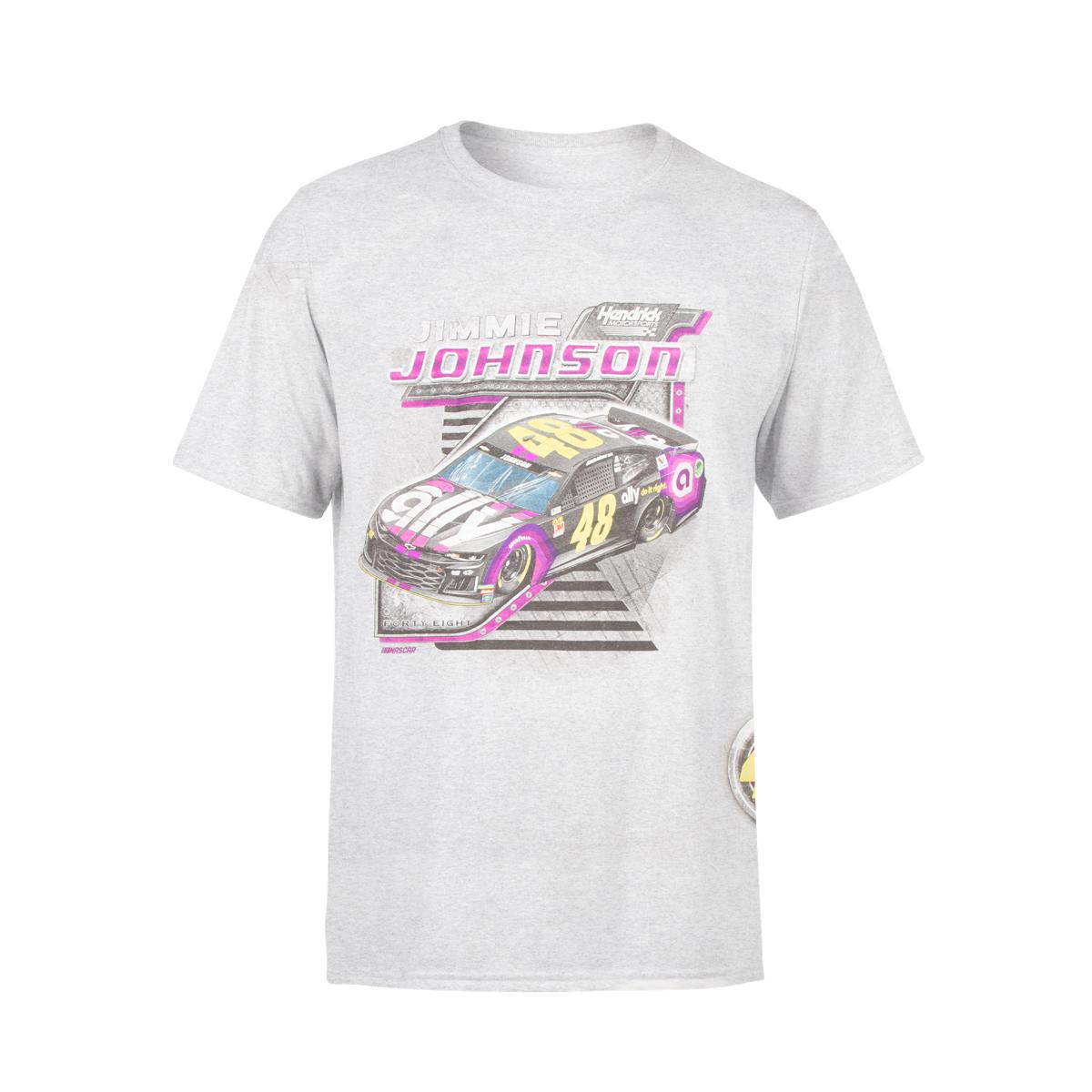 Jimmie Johnson #48 2019 NASCAR Full Throttle T-shirt