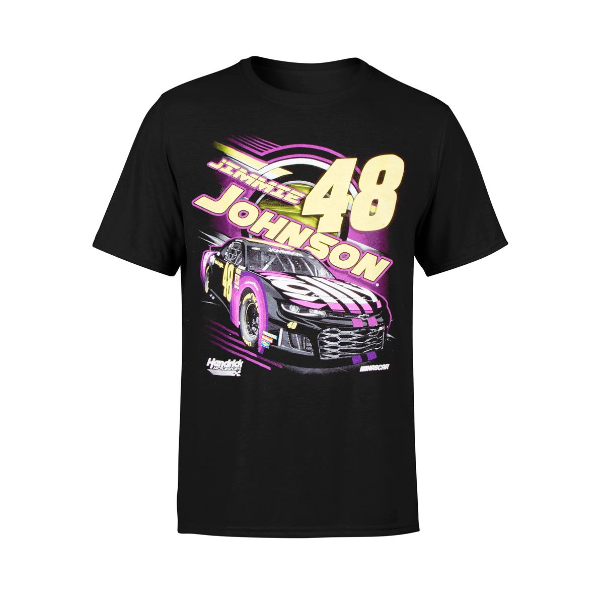 Jimmie Johnson #48 2019 NASCAR Ladies Vintage T-shirt