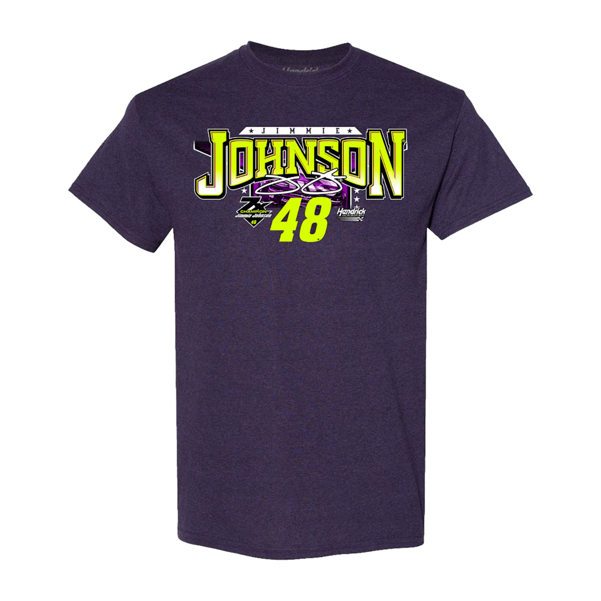 Jimmie Johnson #48 2020 Ally Schedule T-shirt
