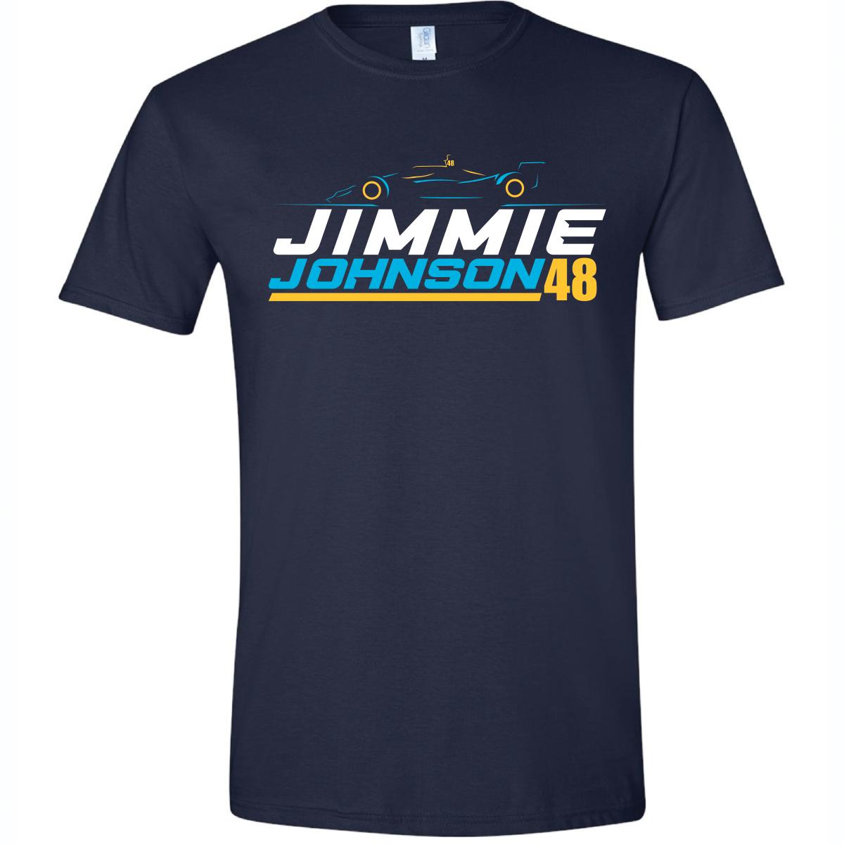 Jimmie Johnson #48 2021 Indycar Bold Outline Tee