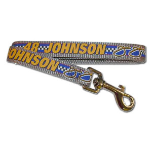 "Jimmie Johnson #48 Nylon Dog Lead 5/8"" x 4ft"