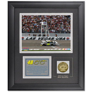 Jimmie Johnson #48 Las Vegas 6x8 Picture/Coin