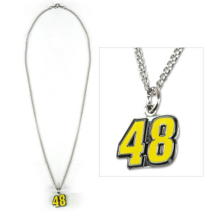 Jimmie Johnson #48 Necklace