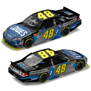 Jimmie Johnson #48 2010 Foundation AUTOGRAPHED 1:24 Die Cast