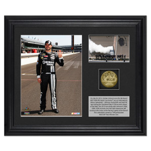 Jimmie Johnson 2012 Indianapolis Win Photo(s) with Gold Coin