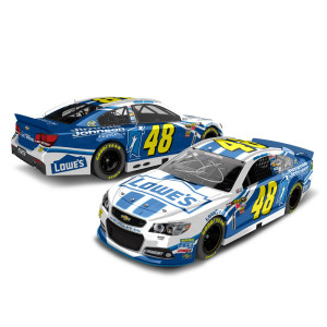 Jimmie Johnson 2013 Foundation 1:24 Scale Diecast Autographed