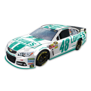 Jimmie Johnson #48 Lowes Emerald Green 1:24 Scale Diecast HOTO