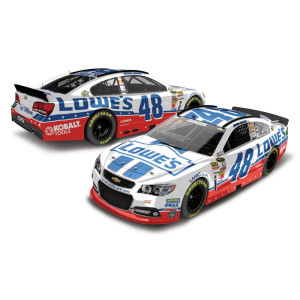 Jimmie Johnson #48 Lowes Unites 1:24 Scale Diecast HOTO