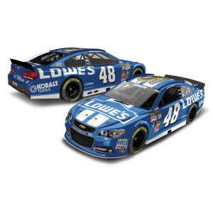 Jimmie Johnson #48 2013 Sprint Cup Champion 1:24 Lowe's Diecast
