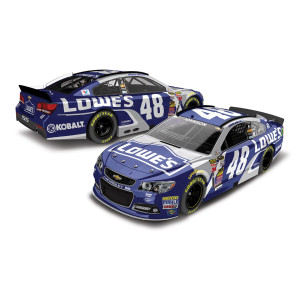 Jimmie Johnson #48 1:24 Scale 2015 Lowe's Diecast